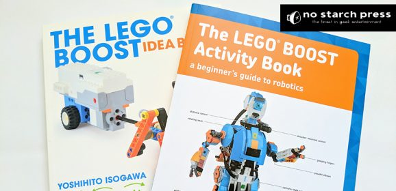 Beyond LEGO Boost With No Starch Books