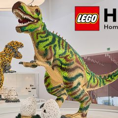 Something Roarsome Is Coming To LEGO House This Easter