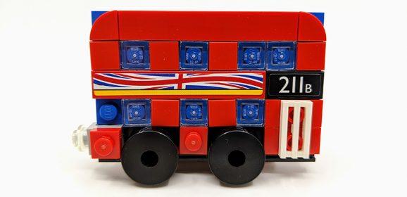 LEGO London Bus Magnet Review