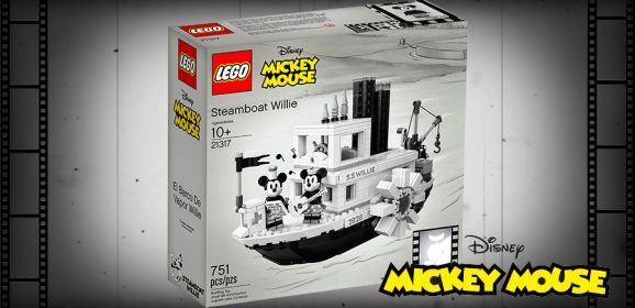 Introducing LEGO Ideas Steamboat Willie
