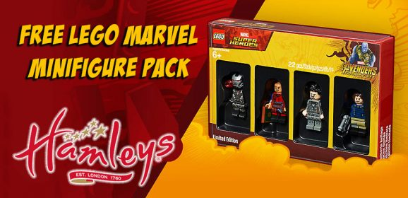 LEGO Marvel Minifigure Pack Comes To The UK