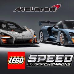 Life-sized LEGO McLaren Arriving At LEGOLAND Windsor