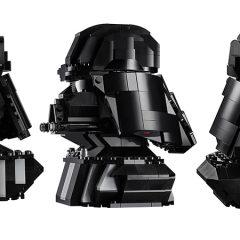 LEGO Star Wars Vader Bust More Details