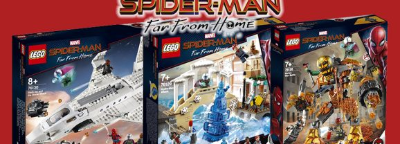 New Spider-Man Far From Home Sets Revealed