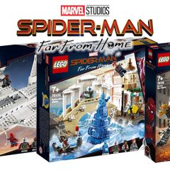 LEGO Spider-Man Far From Home Sets In Detail