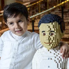 Superfan Turned Into A Life-sized LEGO Model