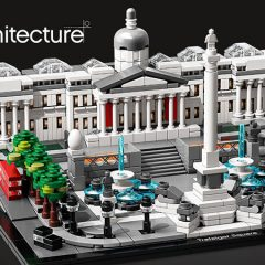 LEGO Architecture Trafalgar Square Set Signing Event
