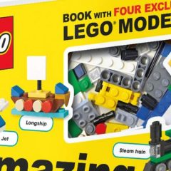 LEGO Amazing Vehicles Book Now Available