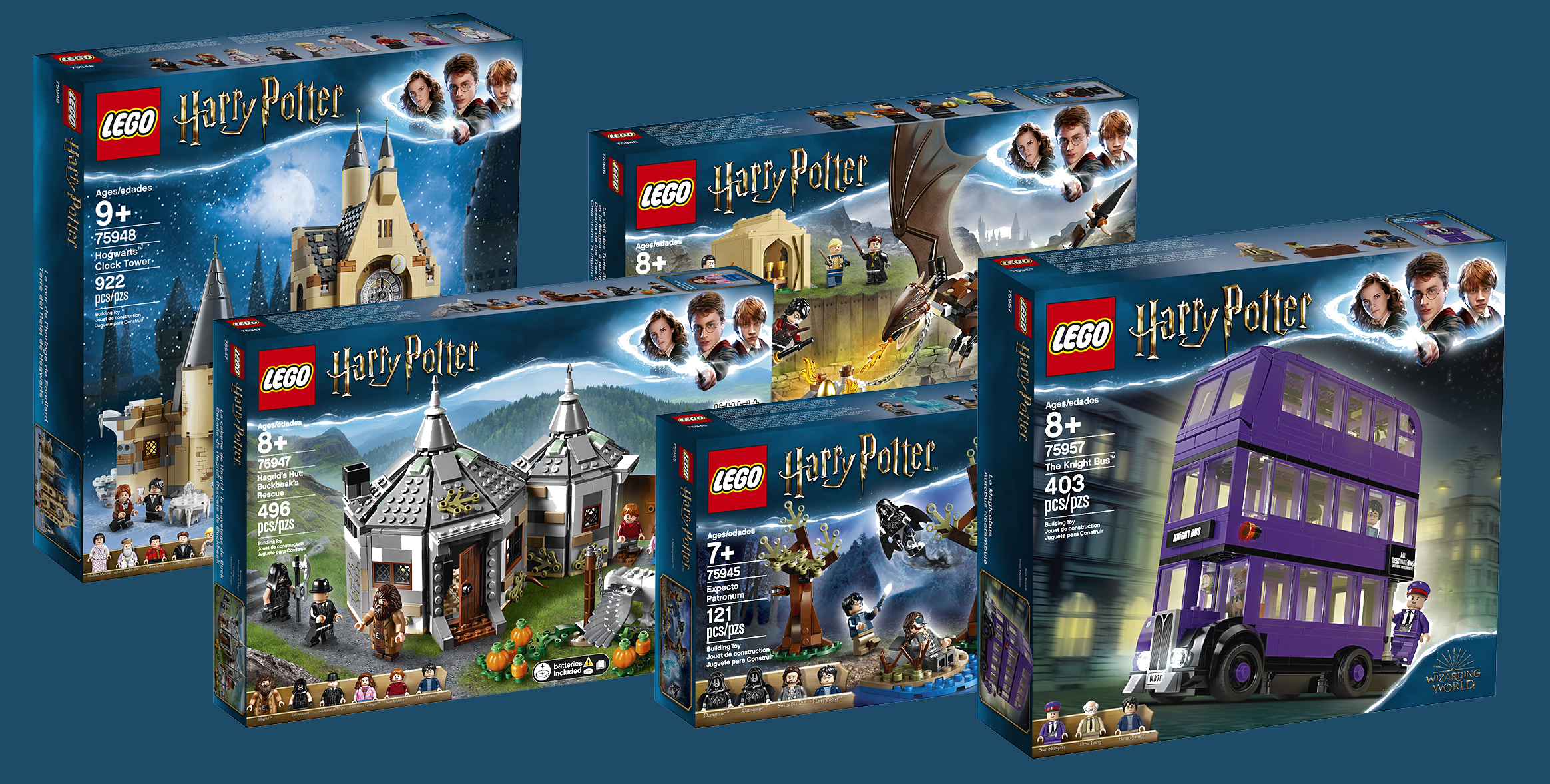New Lego Harry Potter Sets Now Available In Us Canada