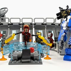 76125: LEGO Avengers Iron Man Hall Of Armour Set Review