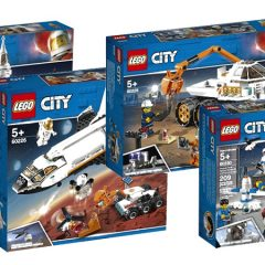 Blast Off With New LEGO City Mars Exploration Sets