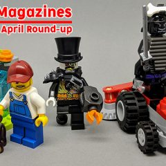 LEGO Magazines April Round-up