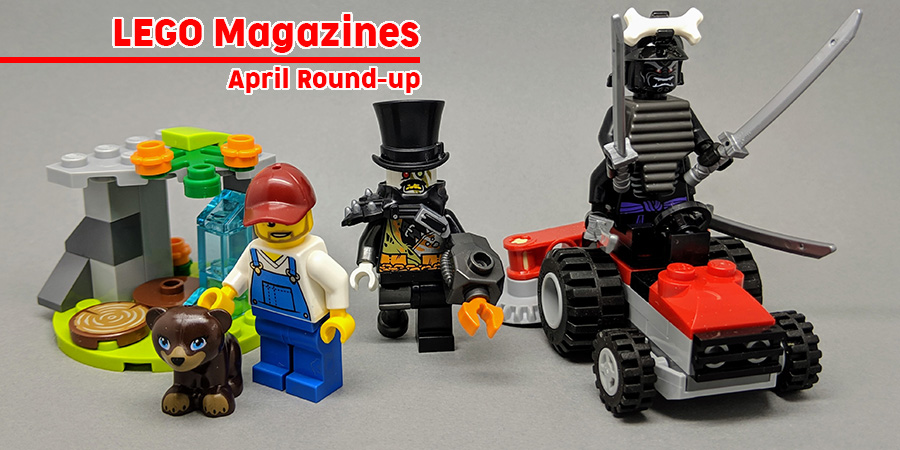 Lego Magazines April Round Up Bricksfanz