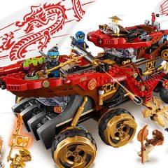 New Summer LEGO NINJAGO Sets Revealed