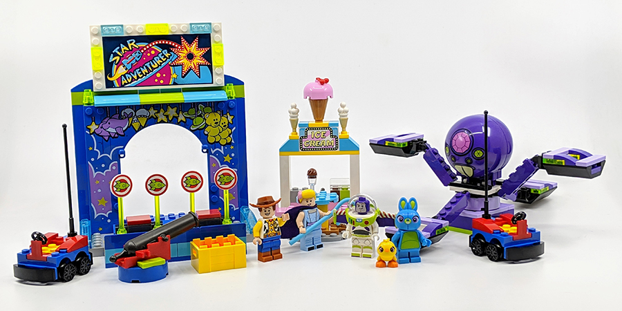 10770 Buzz And Woody S Carnival Mania Toy Story 4 Set Review
