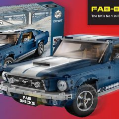 Win A LEGO Ford Mustang With Fab-Bricks