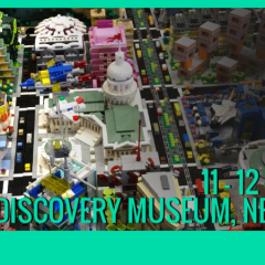 Discovery Brick Show Takes Place This Weekend