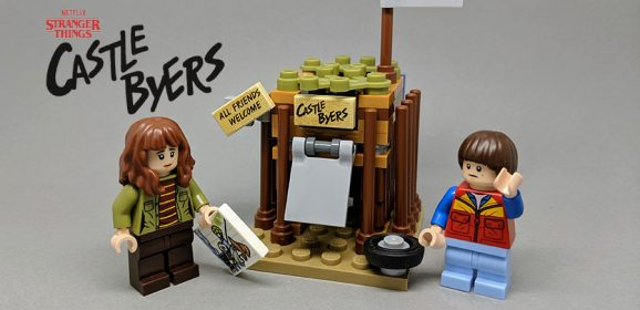LEGO Stranger Things: Building Castle Byers