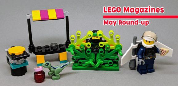 LEGO Magazines May Round-up