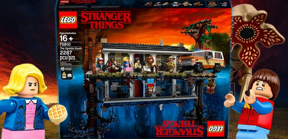 Introducing LEGO Stranger Things The Upside Down
