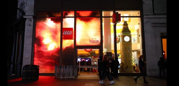 LEGO Stranger Things Launch Invades Leicester Square