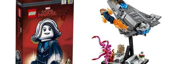 Captain Marvel San Diego Comic-Con Exclusive Set Revealed