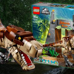 Epic LEGO Jurassic Park Set Officially Announced