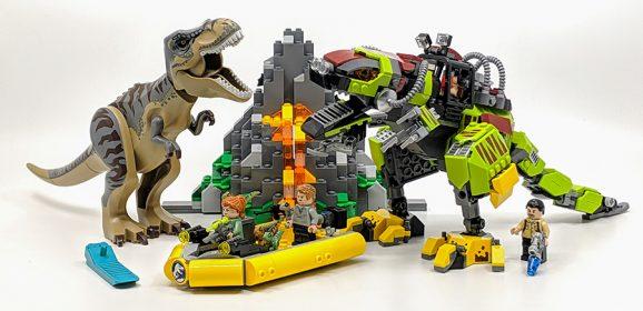 75938: T. rex vs Dino-Mech Battle Jurassic World Set Review