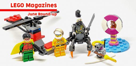 LEGO Magazines June Round-up