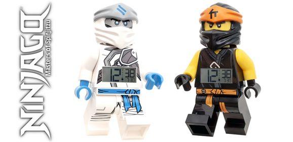 New LEGO NINJAGO Clocks Coming From ClicTime
