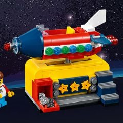 Free LEGO Space Rocket Ride Returns
