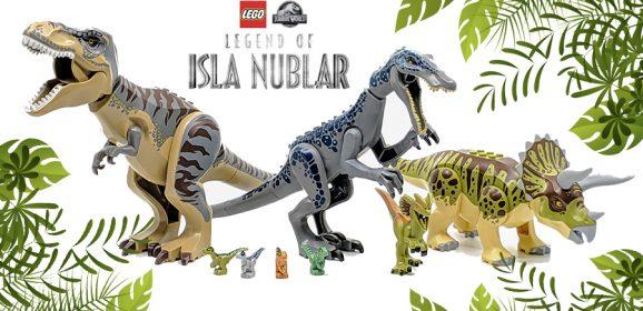 The LEGO Dinosaurs Of Isla Nublar