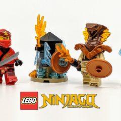 LEGO NINJAGO Minifigure Pack Review