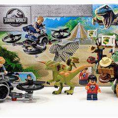 75934: Dilophosaurus on the Loose Set Review