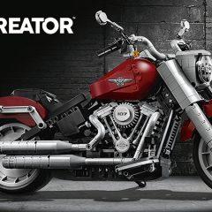Introducing The LEGO Creator Expert Harley-Davidson