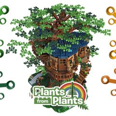 LEGO Ideas Treehouse Blooming With Sustainable Elements