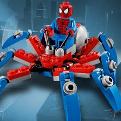 Get A Free LEGO Spider-Man Spider Crawler Set