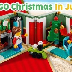 LEGO Christmas In July Is Here