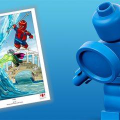 Third LEGO Marvel Art Print Now Available