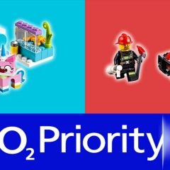Free LEGO City & Unikitty Sets With O2 Priority