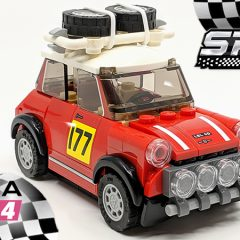 1967 Mini Cooper S Rally LEGO Speed Champions Set Review