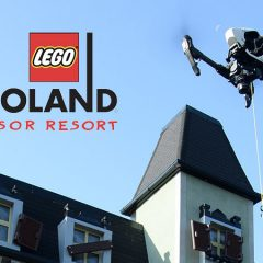 Drone Ice Cream Delivery Tested At LEGOLAND Windsor