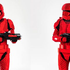 LEGO Big Build Sith Trooper To Debut At SDCC