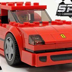 Ferrari F40 LEGO Speed Champions Set Review