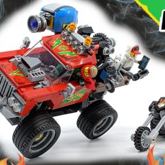 70421: El Fuego's Stunt Truck Hidden Side Set Review