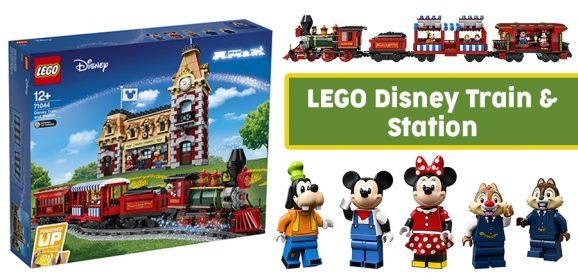 All Aboard The LEGO Disney Train