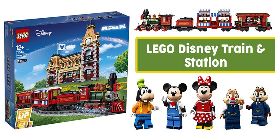 All Aboard The LEGO Disney Train | BricksFanz