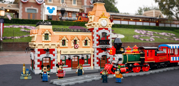 LEGO Group Announces The Arrival Of The Iconic Disney Train & Station