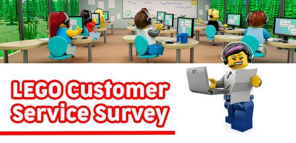 Take The LEGO Customer Service Survey