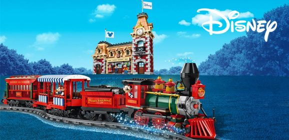 Building The LEGO Disney Train & Station
